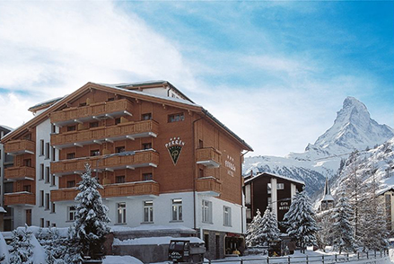 The typical Zermatt atmosphere tangible throughout friendly family Hotel Perren – Switzerland