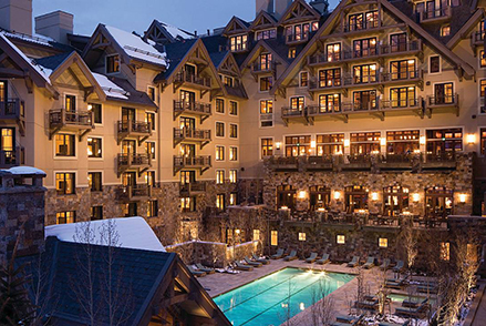 7 nights at Four Seasons Resort, Vail – Embrace the fresh powder and frosted village
