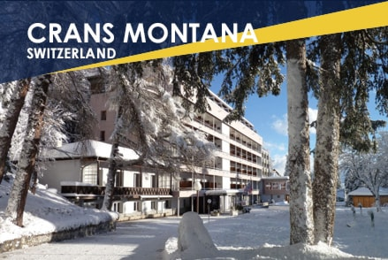 Crans Montana Switzerland, 2020 offer