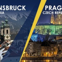 Innsbruck, Austria and Prague, Czech Republic, 2020 offer